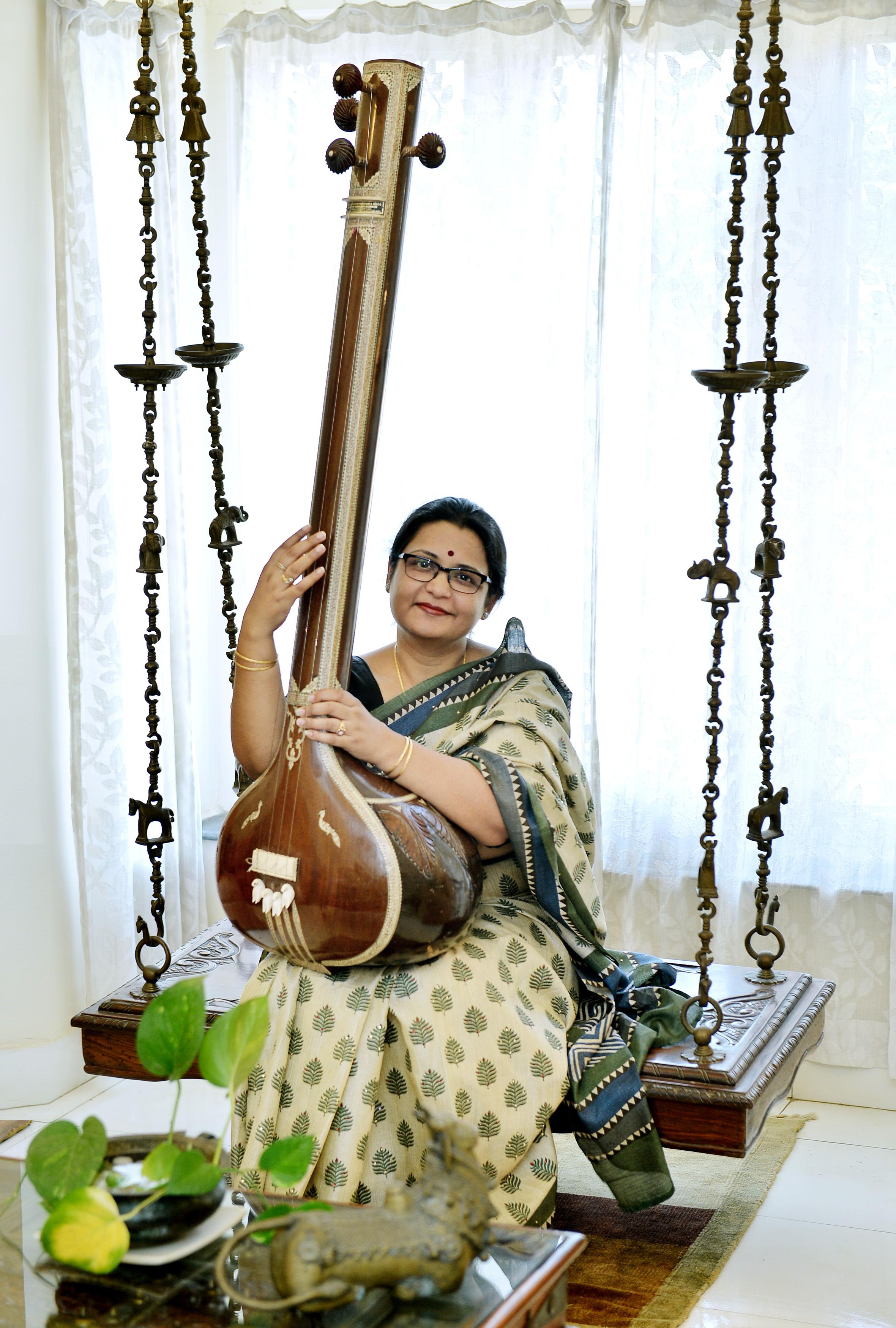 Classical Singer Shruti Jauhari. EXPRESS/A.RAJA CHIDAMBARAM.